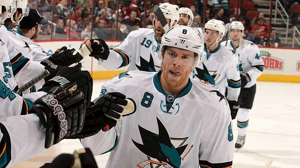 Whose team is it anyway? Without a captain, Joe Pavelski or another younger star may take center stage now that Joe Thornton has been stripped of the C.