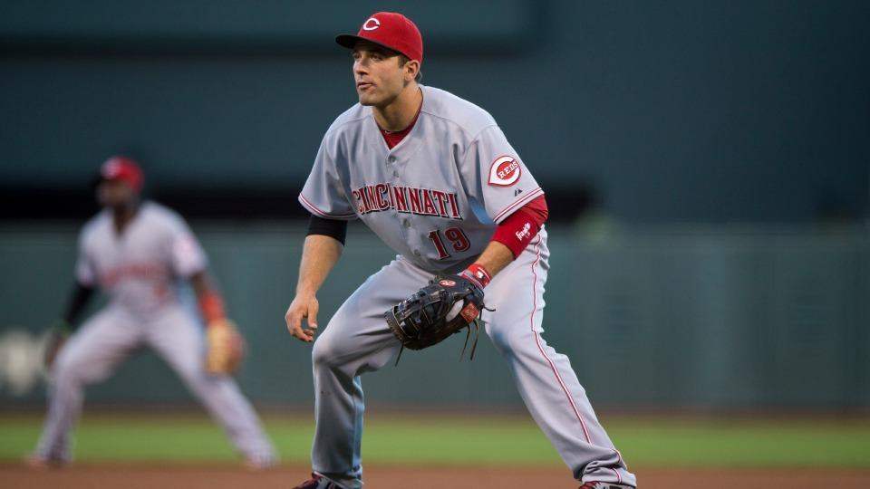 Reds place Joey Votto on 15-day DL with strained left quad