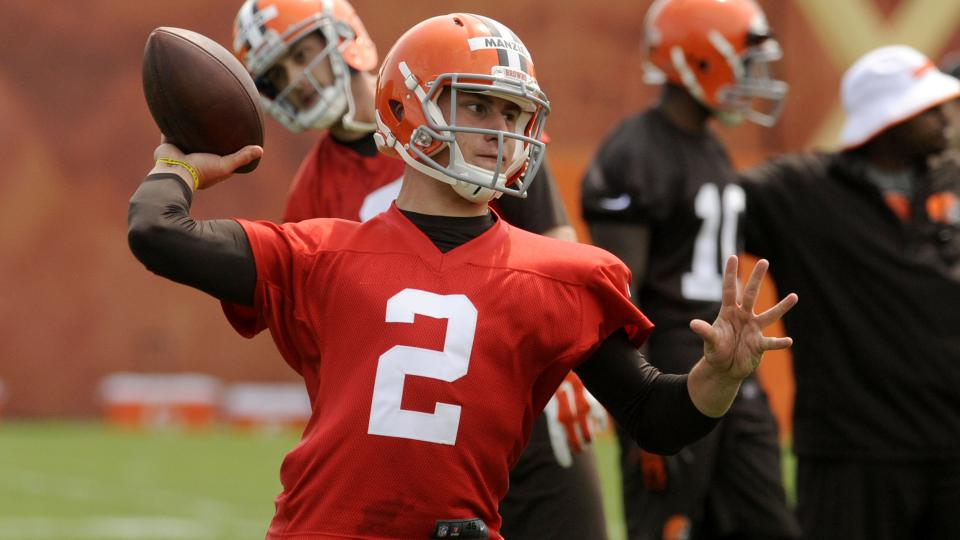 Report: Browns' Johnny Manziel leads NFL in jersey sales