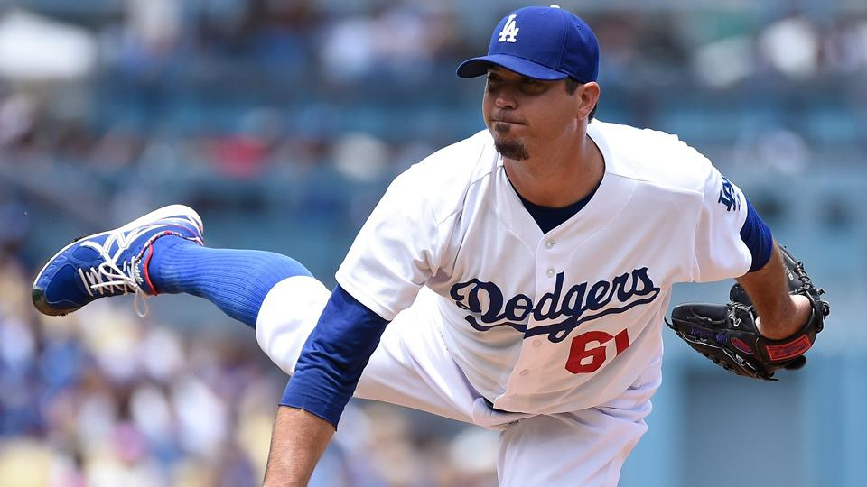 Josh Beckett injury poses severe test to Dodgers' rotation depth