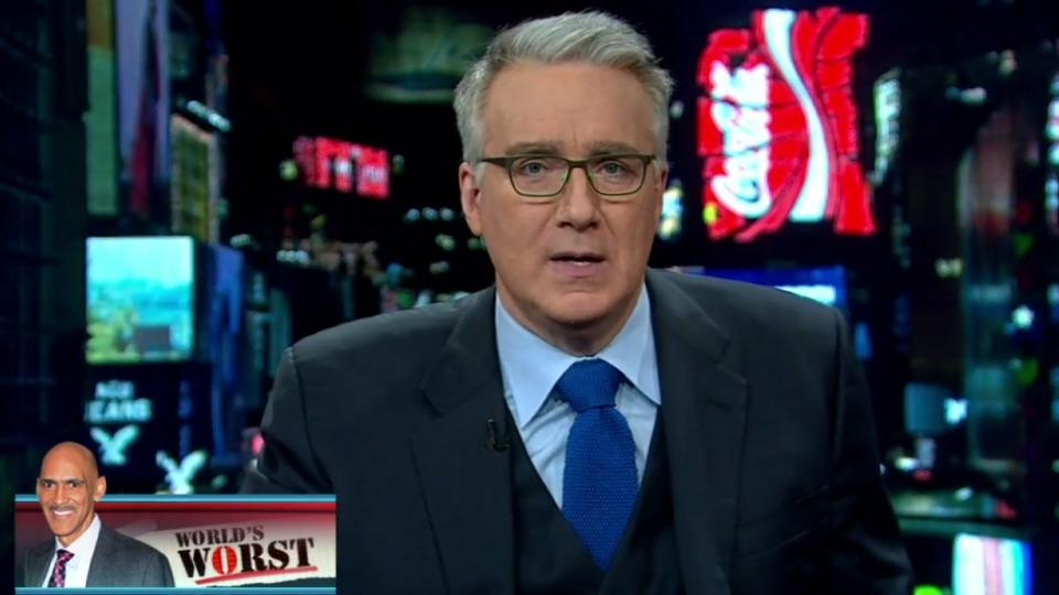 Keith Olbermann names Tony Dungy 'worst person in the world' for his comments on Michael Sam