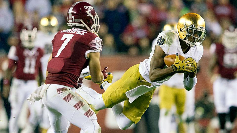 Notre Dame cornerback KeiVarae Russell declares for 2016 NFL draft
