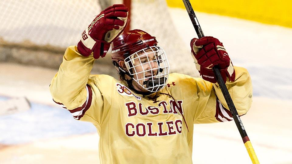 College phenom Kevin Hayes was drafted 24th by the Blackhawks in 2010, but they will lose his signing rights at midnight on August 15.