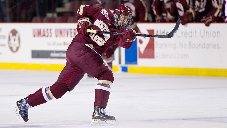 New York Rangers sign BC prospect Kevin Hayes