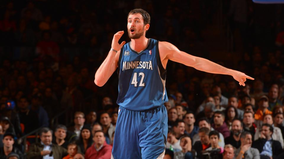 Report: Kevin Love interested in joining LeBron James, Cavaliers; Wiggins available