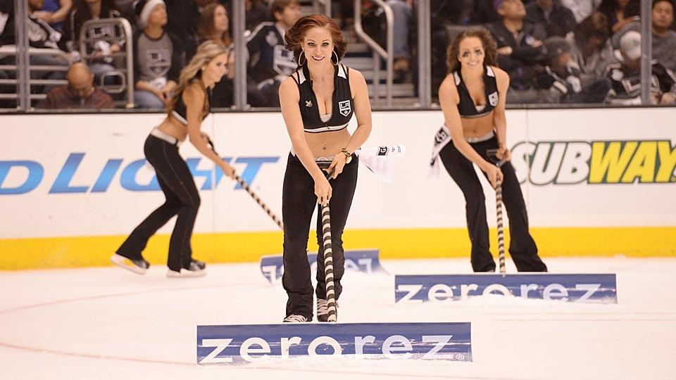 Ice Girls warm the hearts of some NHL fans, but others—particularly in San Jose—have objected on the grounds that their revealing outfits objectify women.