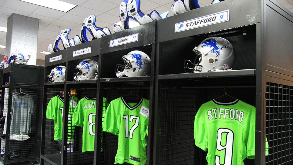 Detroit Lions debut jerseys made from recycled plastics