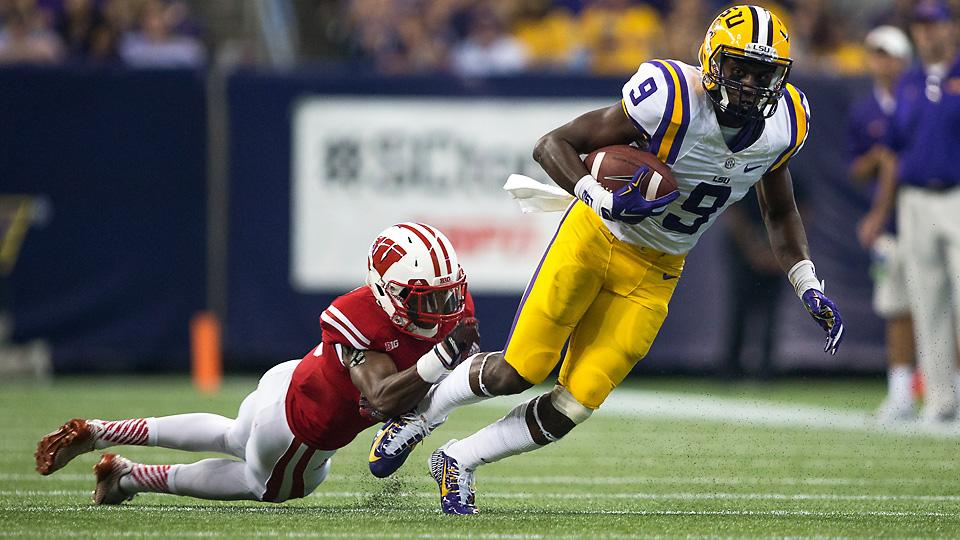 Three and Out: Les Miles' latest trick propels LSU over Wisconsin