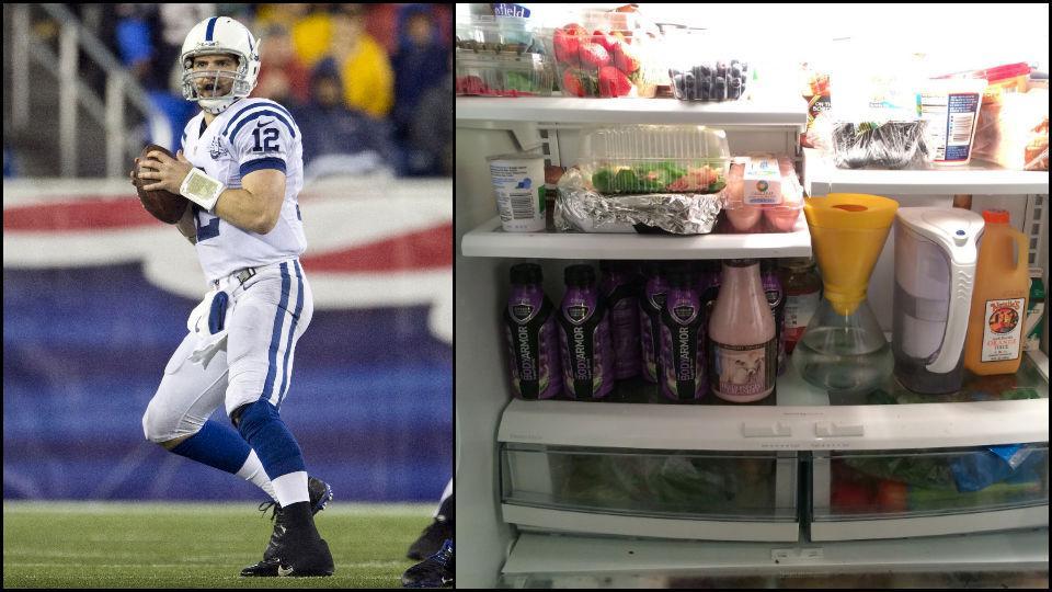 Fridge Raider: Indianapolis Colts QB Andrew Luck