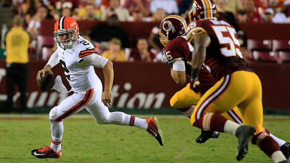 Brian Hoyer, Johnny Manziel each struggle as Browns fall to Redskins