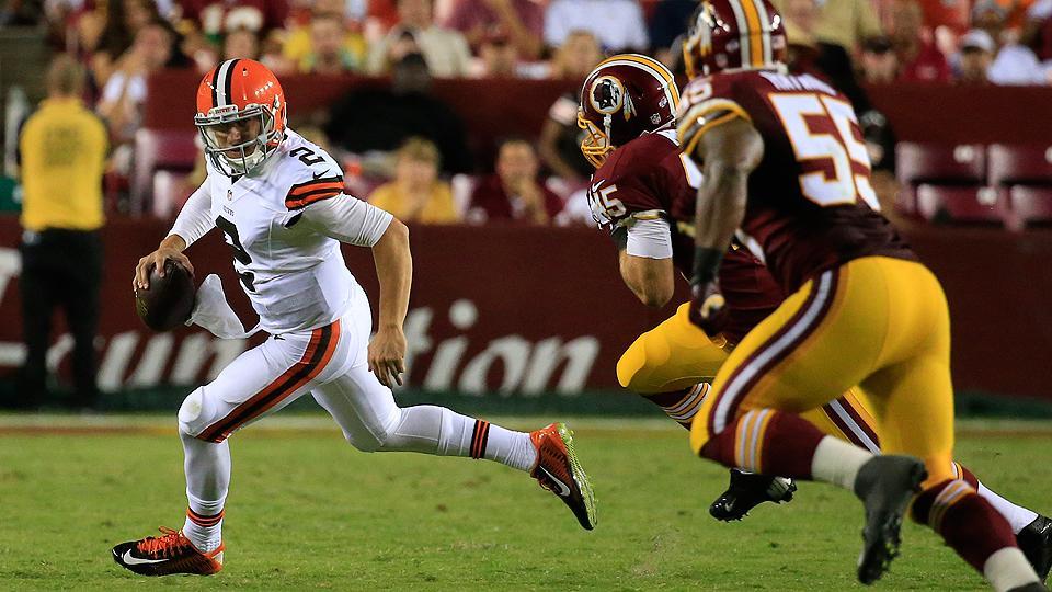 Brian Hoyer, Johnny Manziel each struggle as Browns fall to Redskins