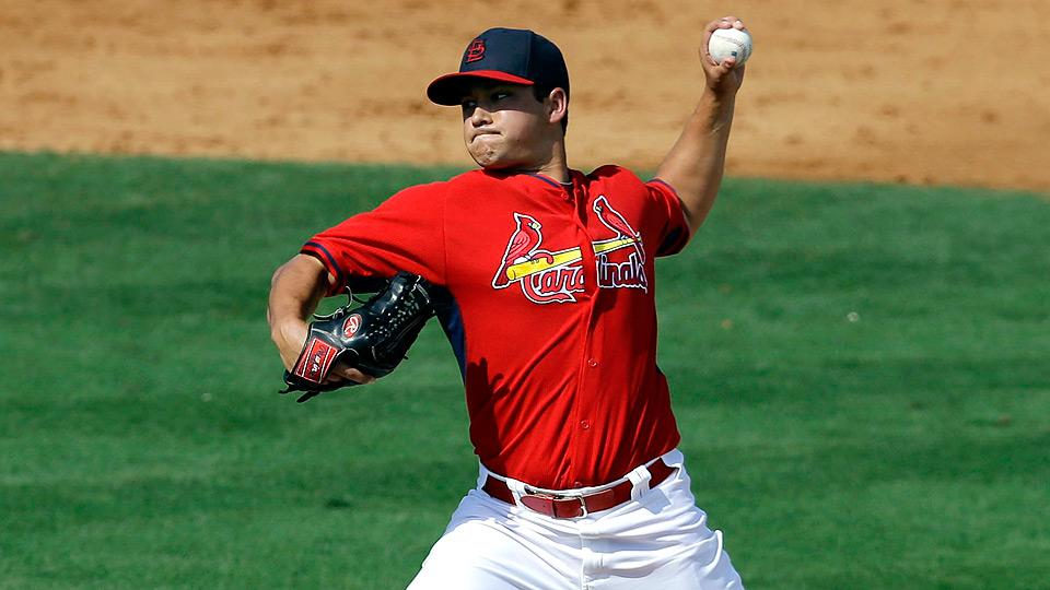 Marco Gonzales' road to the majors was accelerated thanks to injuries to Cardinals' starters Jaime Garcia and Michael Wacha.
