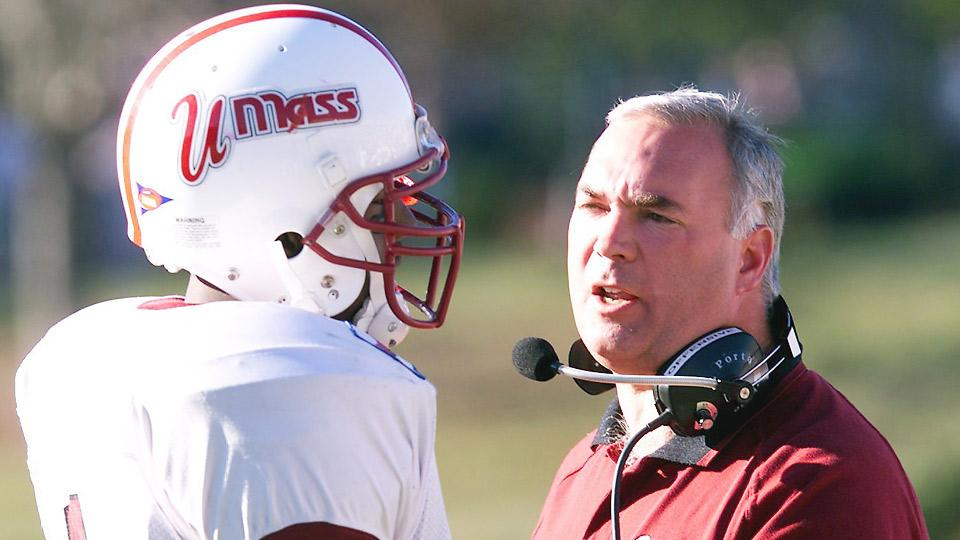 UMass coach Mark Whipple returns for his second stint with the Minutemen after coaching the then-Division I-AA program from 1998 to 2003.