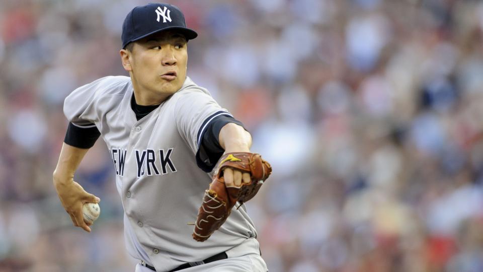 Report: Yankees starter Masahiro Tanaka's recovery going slowly