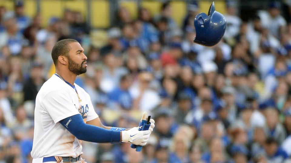 Report: Los Angeles Dodgers 'trying hard' to trade Matt Kemp