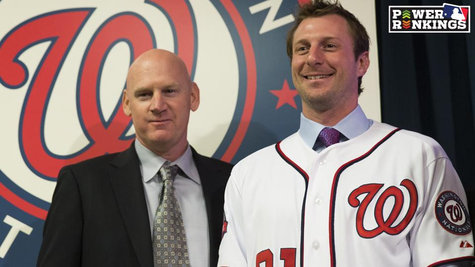 Power Rankings: Nationals take top spot ahead of spring training