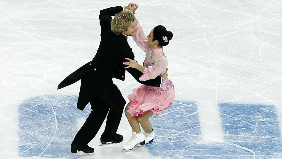 Ice dancing sensations Meryl Davis and Charlie White have some ground to make up for the U.S. in the team figure skating competition.