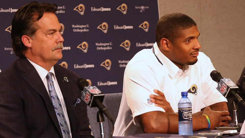 Jeff Fisher: Michael Sam has not been a distraction for Rams