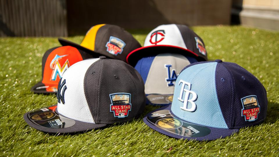 The 2014 MLB All-Star Hat Collection