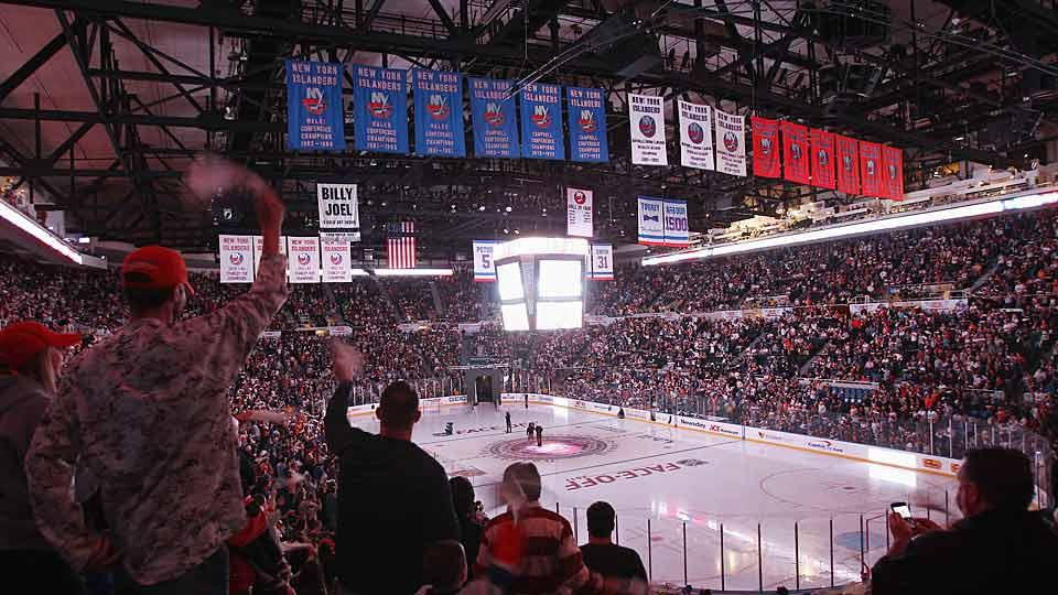 The Islanders will close out 43 years of, um, history when they play their final season at the crumbling Nassau Veterans Memorial Coliseum.
