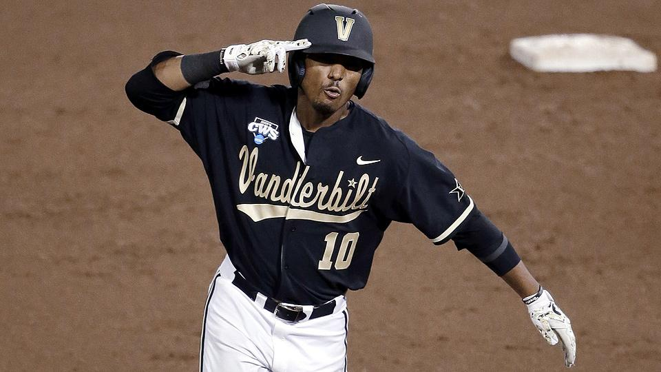 John Norwood's eighth-inning home run was the margin of victory for Vanderbilt against Virginia in Game 3.