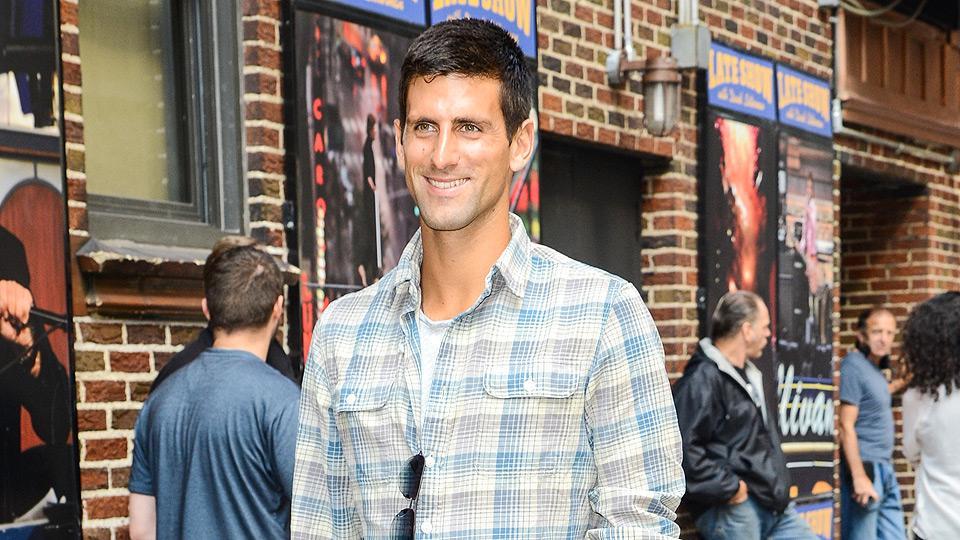 Watch: Novak Djokovic appears on Late Show With David Letterman