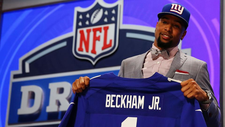 Giants rookie receiver Odell Beckham Jr. to miss at least another week