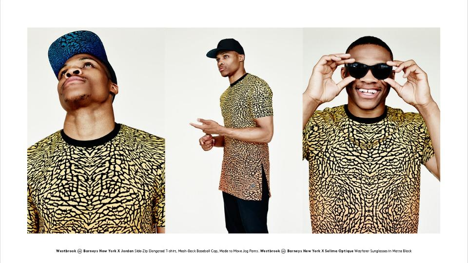 Russell Westbrook's fashion collection for Barney's is on sale now