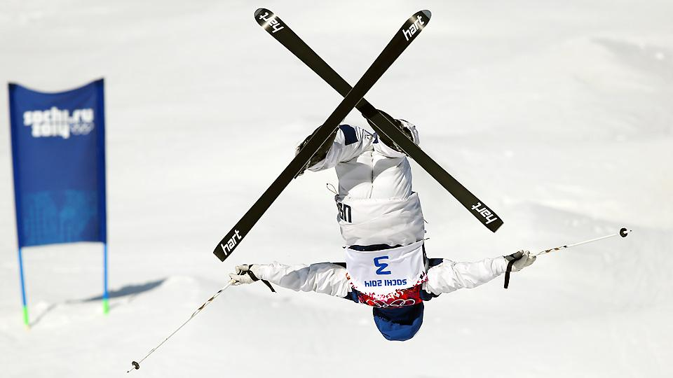 American Patrick Deneen will try to back up his bronze medal from the Vancouver Games in the men's moguls competition Monday.