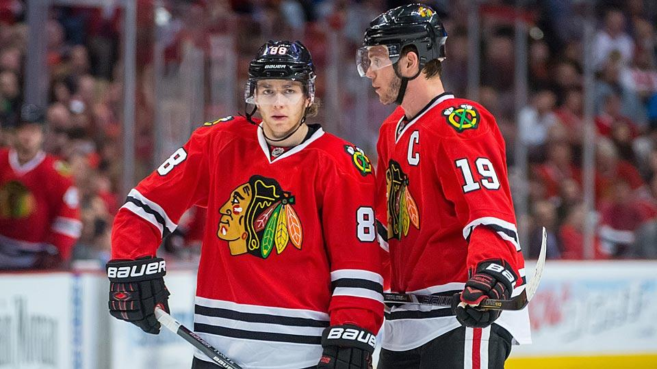 New contracts for Patrick Kane and Jonathan Toews are a priority for the Blackhawks, but with each expected to top $10 million, salary cap issues are causing snags.