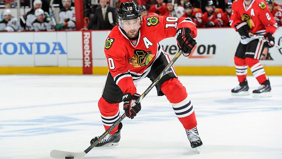 Just when it seemed like Patrick Sharp would be staying with the Blackhawks, the new salary cap figure came in and cast his future in doubt.