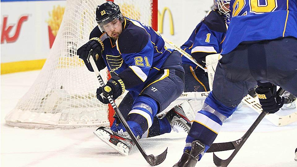 Center Patrik Berglund signed a three-year, $11.1 million extension with the Blues, but may not stay in St. Louis for long.