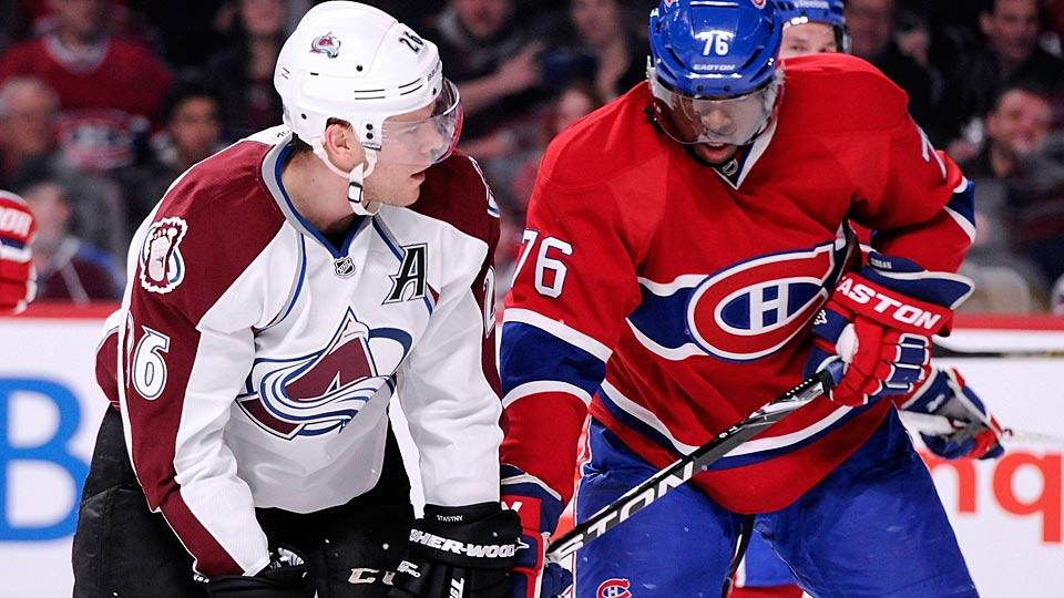 Avalanche center Paul Stastny's destination and the status of RFA defenseman P.K. Subban's contract talks with Montreal are two of the day's intriguing storylines.