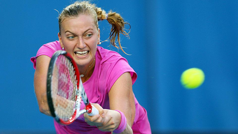 Petra Kvitova has had only limited success during the North American summer hard-court swing.