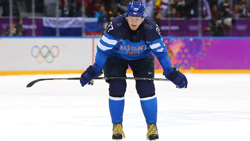 Center Petri Kontiola skated for Team Finland at the Sochi Games and put up 37 points in 53 games with the KHL's Traktor Chelyabinsk.