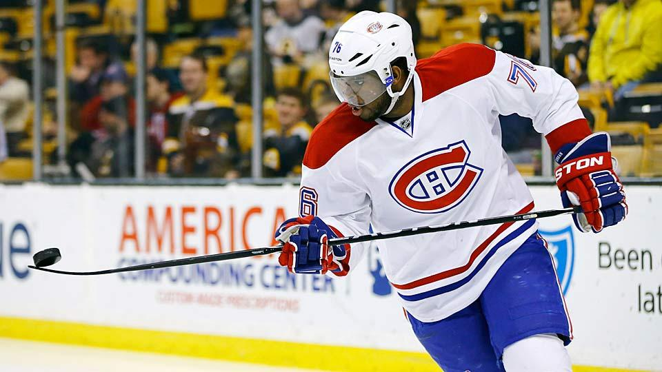 Report: Canadiens' PK Subban seeks $8.25 million in arbitration