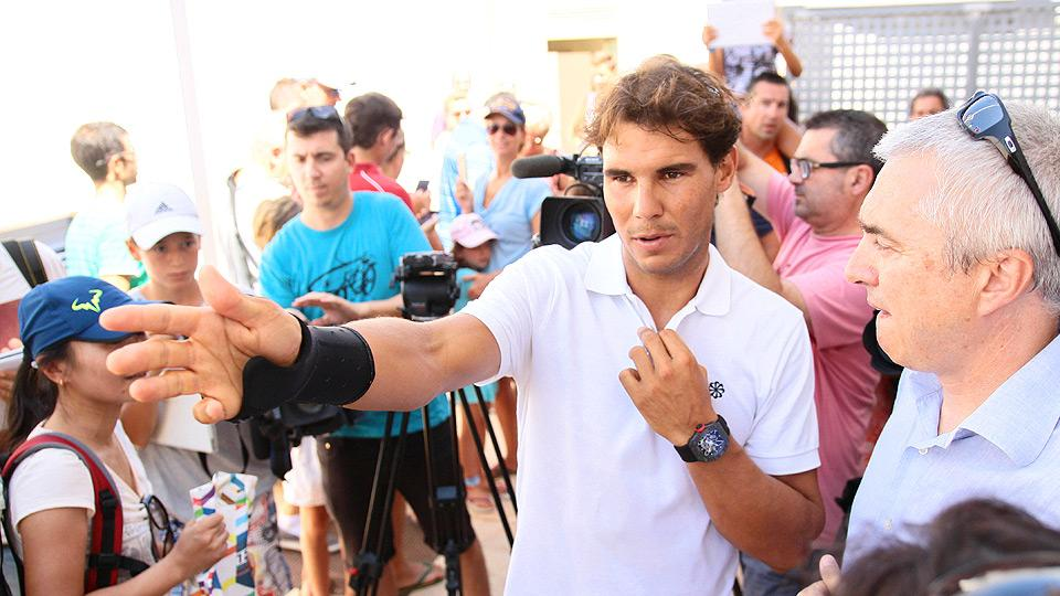 Rafael Nadal postpones U.S. Open decision to next week