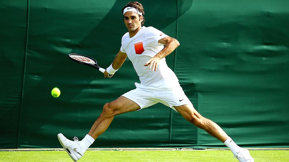 With a revitalized step in his fitness, Roger Federer feels like Wimbledon is his to lose.