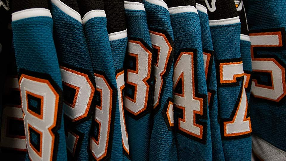 The Flyers just would not be the Flyers if they had ditched their famous Halloween-orange and black sweaters in favor of a teal color scheme.