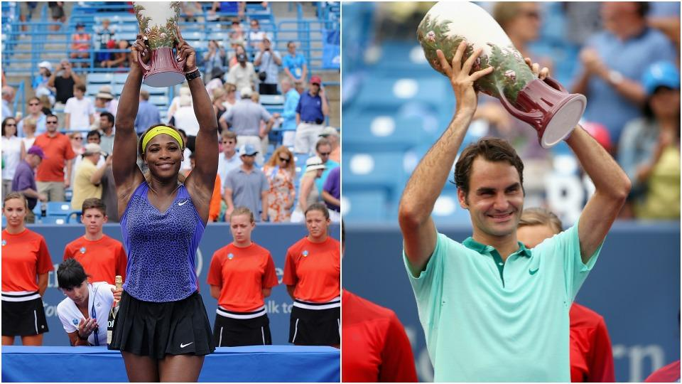 Aces and Faults: Serena, Federer and Bryans tally wins ahead of U.S. Open