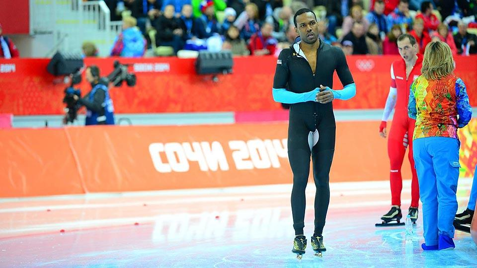 Shani Davis has been part of U.S. Speedskating's Olympic disappointment, failing to medal in any of his races in Sochi.