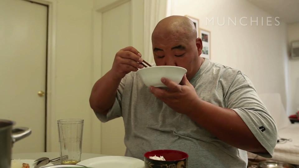 Learn how to eat a sumo champion's 10,000 calorie-a-day diet