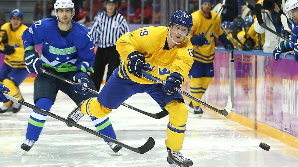 Nicklas Backstrom and Sweden easily strolled past an upstart Slovenia squad who gained valuable Olympic experience.