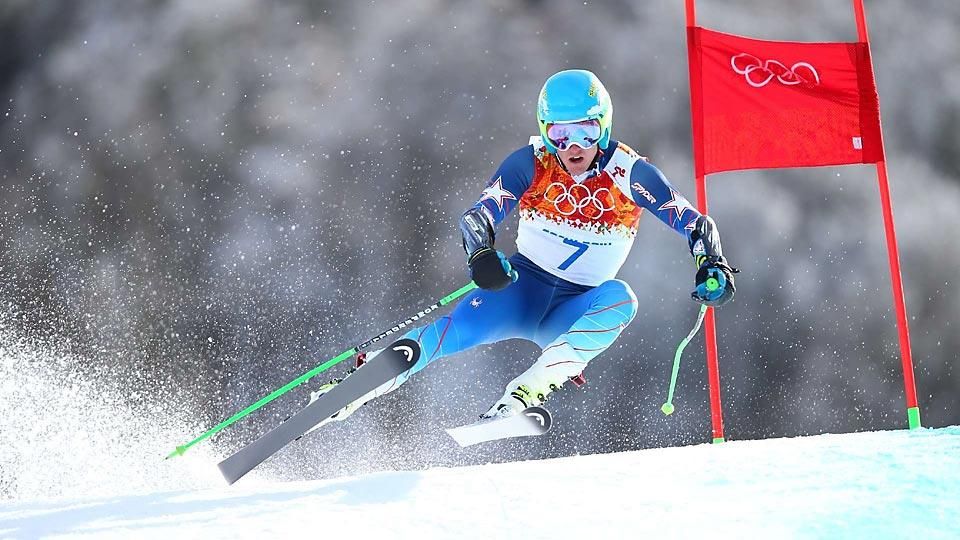 Ted Ligety becomes just the second American to win two gold medals in alpine skiing at the Winter Olympics.