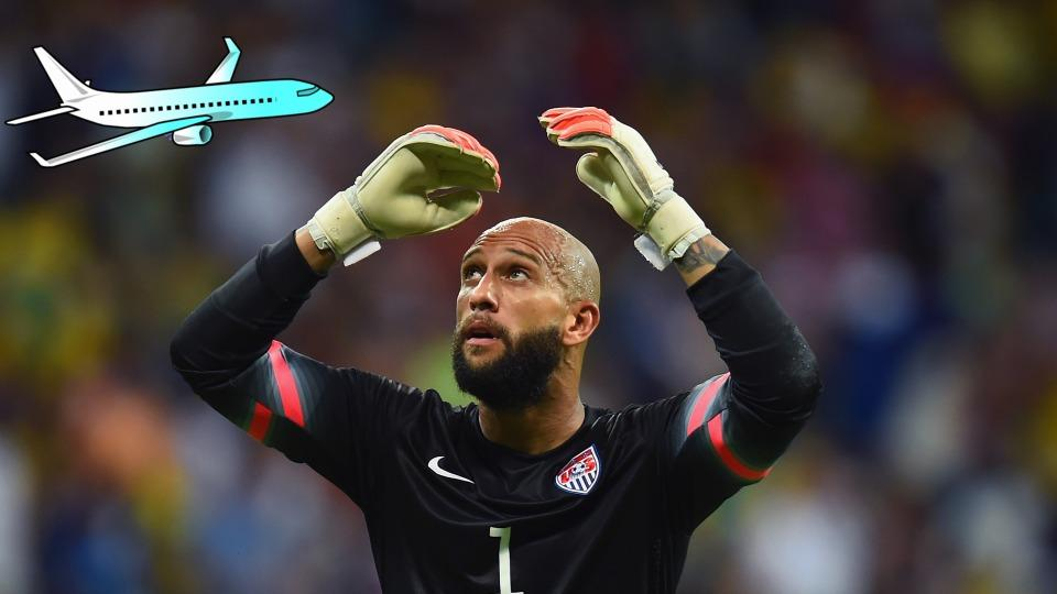 There's a WhiteHouse.gov petition to re-name Ronald Reagan Airport after Tim Howard