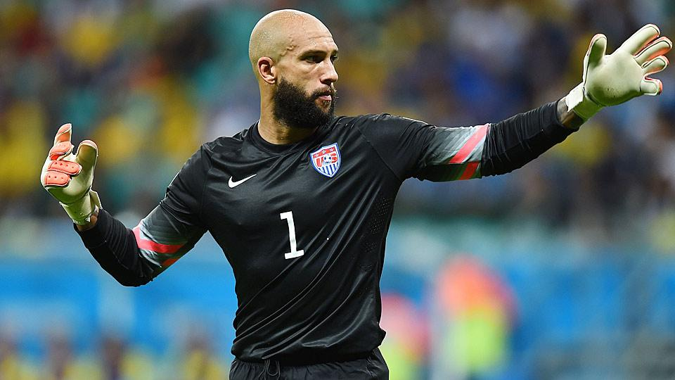 NBC Sports Network is hoping to use Tim Howard as a broadcaster on its English Premier League coverage this season. Howard currently plays for Everton.