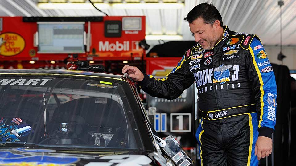 Grief gives no timetable for Tony Stewart's return