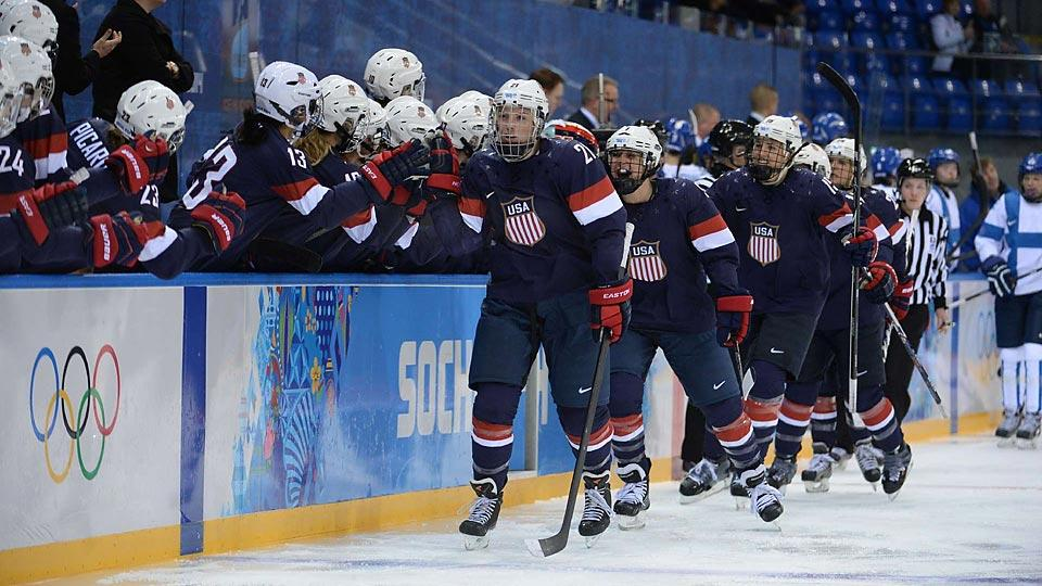 The United States has made relatively easy work of their opening games, defeating Finland 3-1 on Saturday before routing Switzerland 9-0 on Monday.