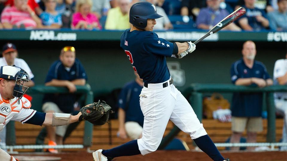 Tyler Flowers' three-run double was a big part of Vandy's nine-run third inning.