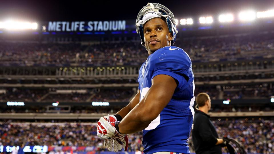 Giants receiver Victor Cruz says new offense is 'more pass-happy'